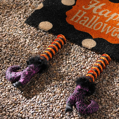 Purple Spider Web Witch Leg Picks, Set of 2