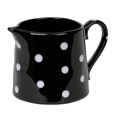 Polka Dot Ceramic Creamer
