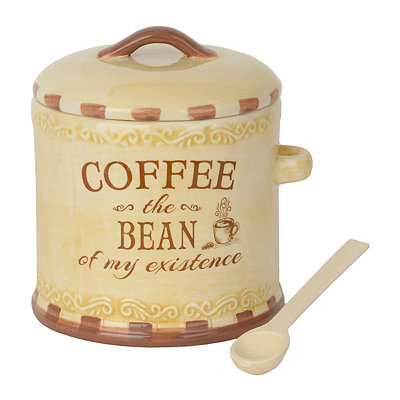 Coffee the Bean Ceramic Jar