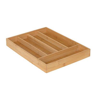 Bamboo Flatware Tray