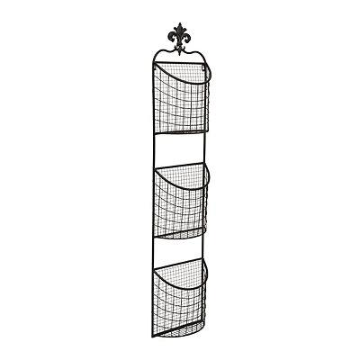 Metal Storage Basket Rack