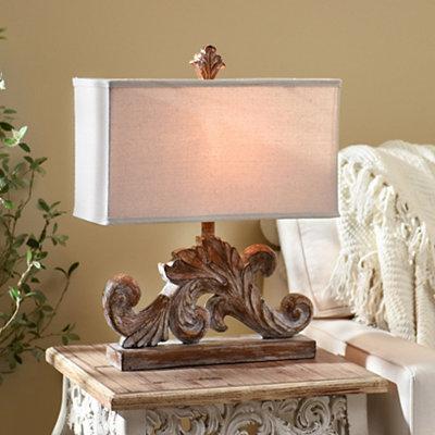 Alexa Leaf Table Lamp