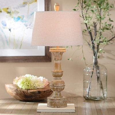 Toffee Bishop Table Lamp