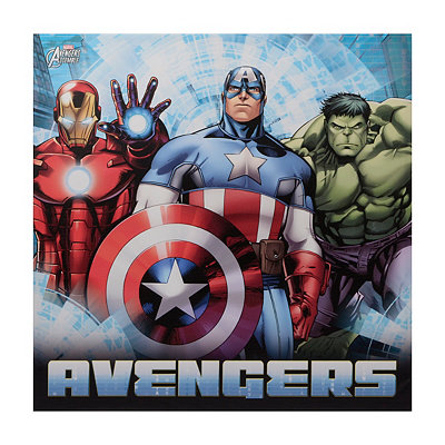 The Avengers Canvas Art Print