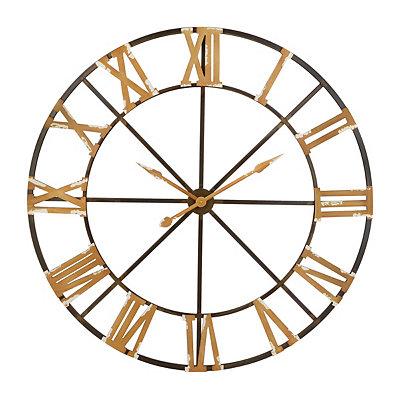 Winston Gold Open Face Clock