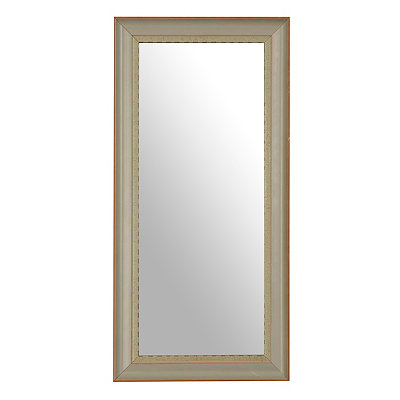 Farmhouse Gray Framed Mirror, 13x27