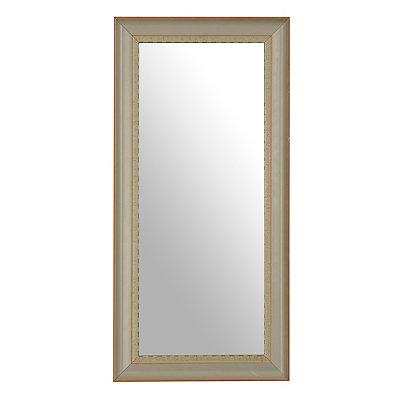 Farmhouse Gray Framed Mirror, 13x27