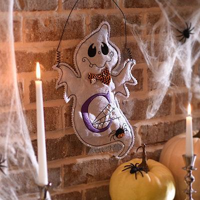 Spooky Ghost Monogram C Wall Hanger