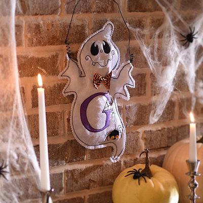 Spooky Ghost Monogram G Wall Hanger