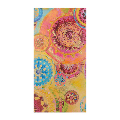 Medallions in Motion Canvas Art Print
