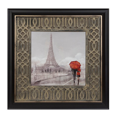 Rainy Day in Paris Framed Art Print