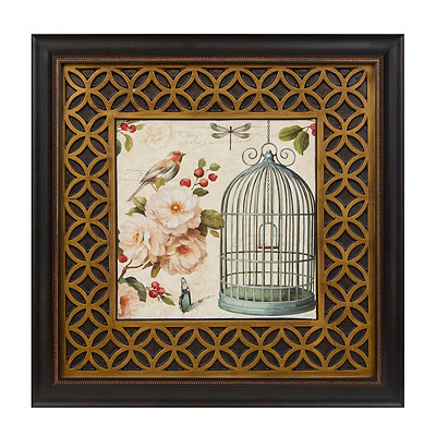 Free as a Bird I Framed Art Print