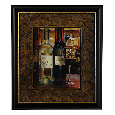 Wine Reflections I Framed Art Print