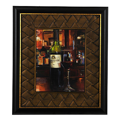 Wine Reflections II Framed Art Print