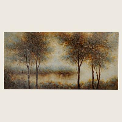Natural Solitude Canvas Art Print