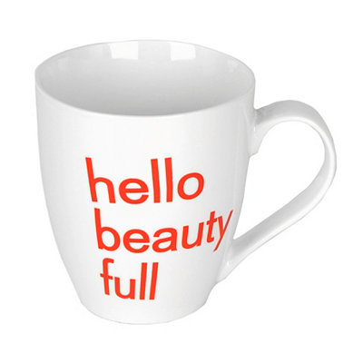 Hello Beauty Full Mug