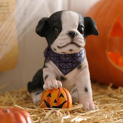 Halloween Dalmatian Puppy Statue