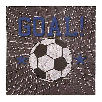 Soccer Goal Canvas Art Print