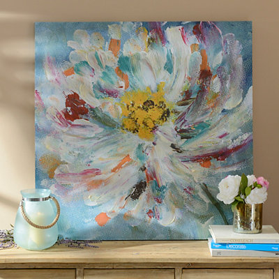 Colorful Flower Canvas Art Print
