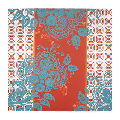 Modern Paisley Canvas Art Print