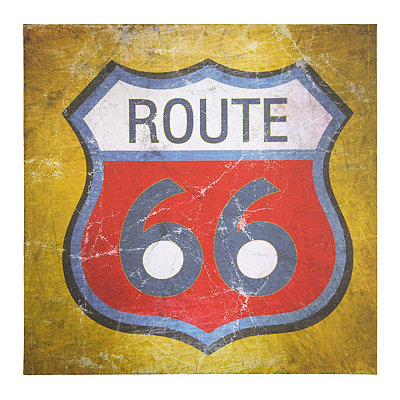 Simply Route 66 Canvas Art Print