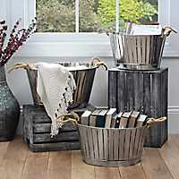 Decorative, storage boxes and baskets