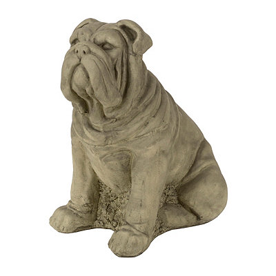 Bulldog Outdoor Statue