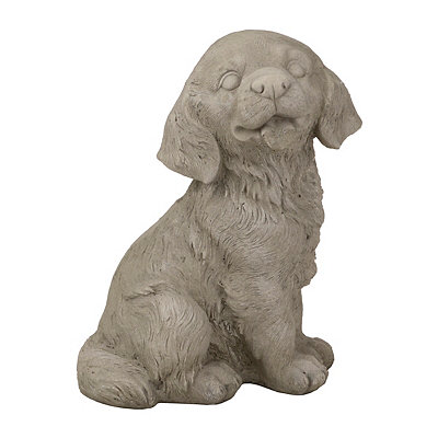Puppy Outdoor Statue