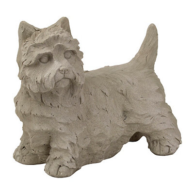 Terrier Outdoor Statue