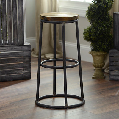 Distressed Warehouse Bar Stool