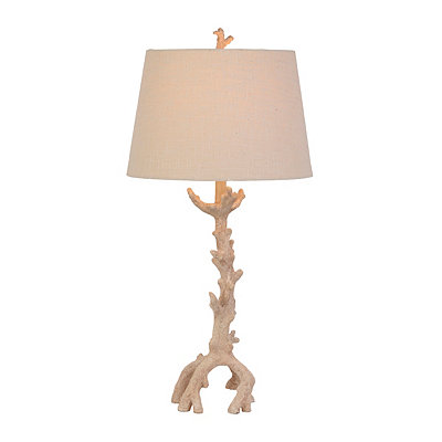 Coral Stem Table Lamp