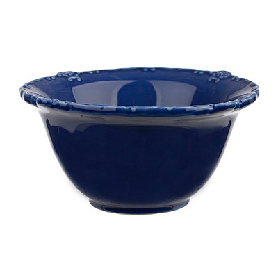 Dark Blue Rooster Bowl