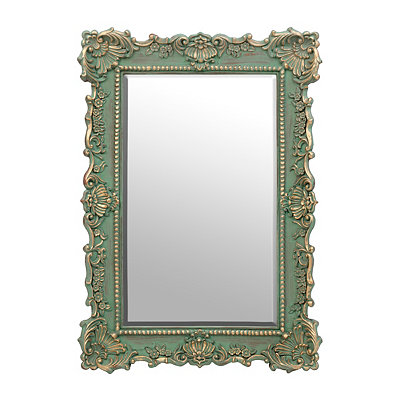 Ornate Aqua Sophia Mirror
