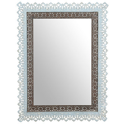 Shirlena Metal Lace Mirror