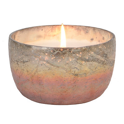 Amber Foil Fresh Linen Jar Candle
