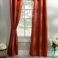 Spice Orange Curtain Panel Set, 108 in.