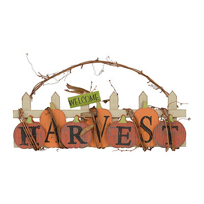 Harvest Twig Hanging Sign