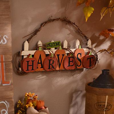 Harvest Twig Hanging Sign