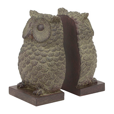 Owl Bookends, Set of 2