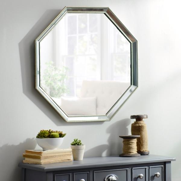 Monet Frameless Octagon Mirror 265x265