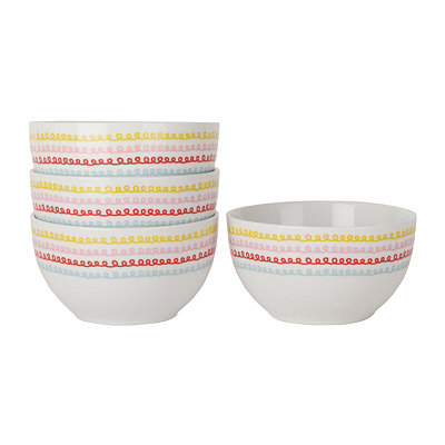 Cake Boss Ice Cream Bowls, Set of 4
