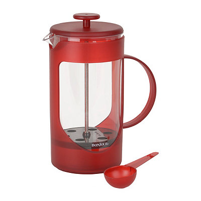 Unbreakable Red 8-cup French Press