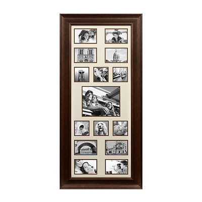 Bronze 15-Opening Collage Frame