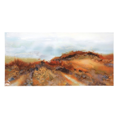 Landscape in Rust Canvas Art Print