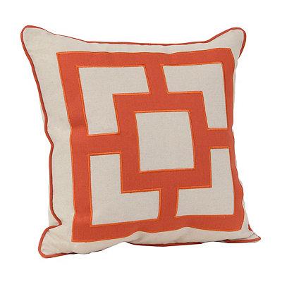 Rylan Spice Squares Pillow