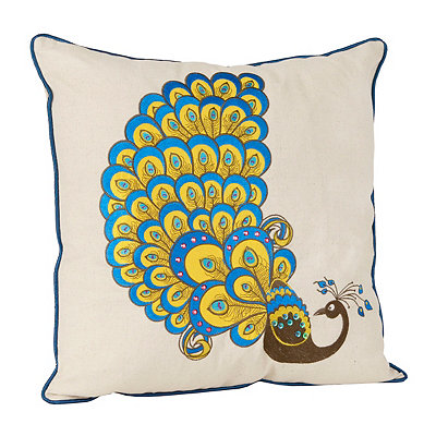 Tafton Peacock Pillow