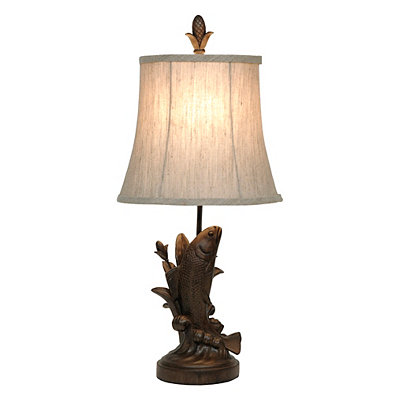 Sable Fish Table Lamp