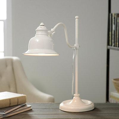 Vintage Cream Task Lamp