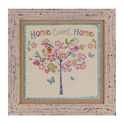 Home Tweet Home Framed Art Print