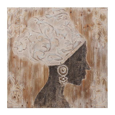 Radiance I Wooden Plaque